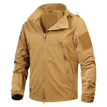 New Autumn Men's Jacket Coat Military Clothing Tactical Outwear US Army Breathable Nylon Light Wind breaker